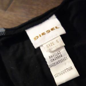 Diesel Tops - Diesel Black and Gray Top Size S